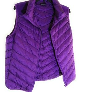 Other - Purple vest with case